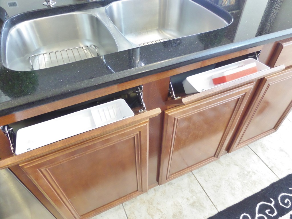 How To Install A Sink Front Tip Out Tray Be My Guest