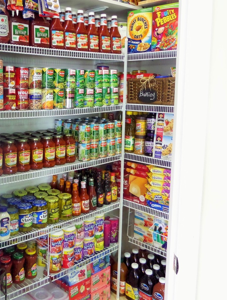 Pantry Stockpile Organization