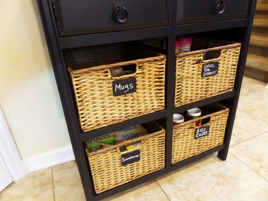 coffee station furniture. Chalkboard Lables Coffee Station Furniture