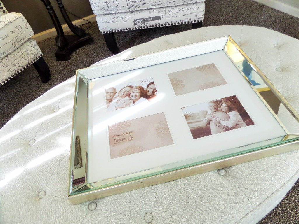 mirrored picture frame - Coffee Table Styling - Be My Guest With Denise - Mirrored Tray For Coffee Table IDI Design