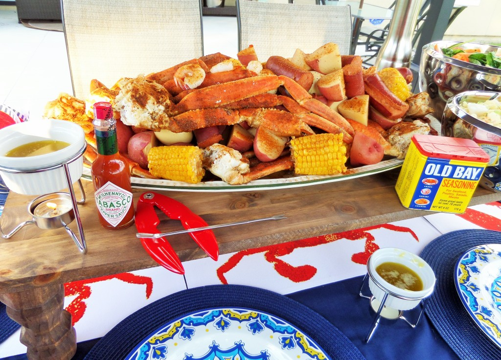 how to throw a crab boil party collaboration with