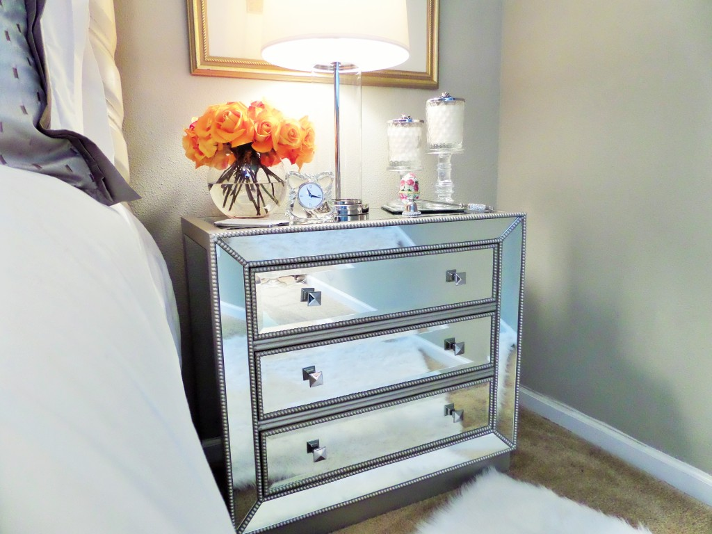 Bedside Table Organization Be My Guest With Denise