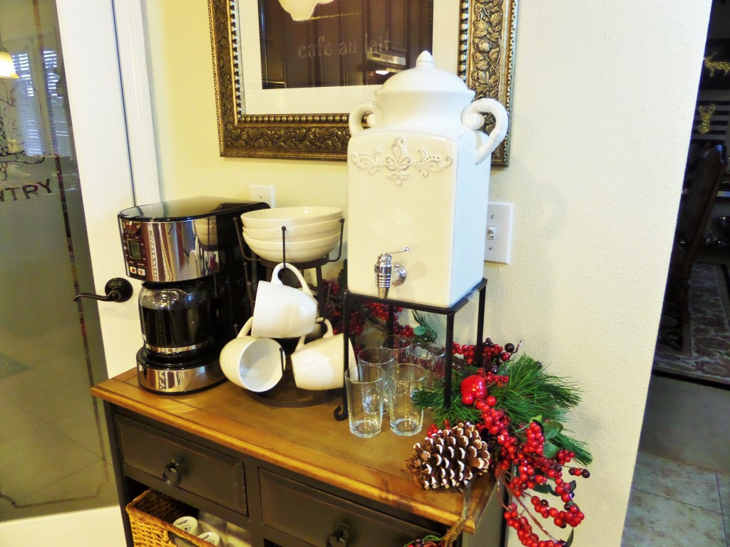 At Home Coffee Station