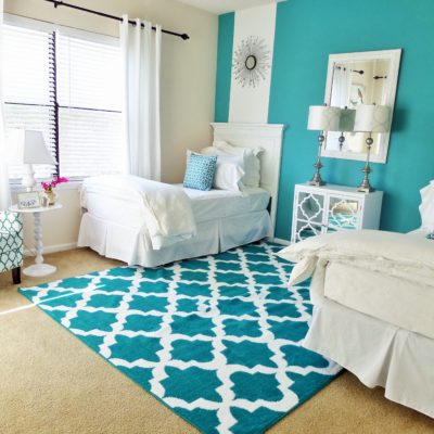 Guest Room: One Room Two Beds