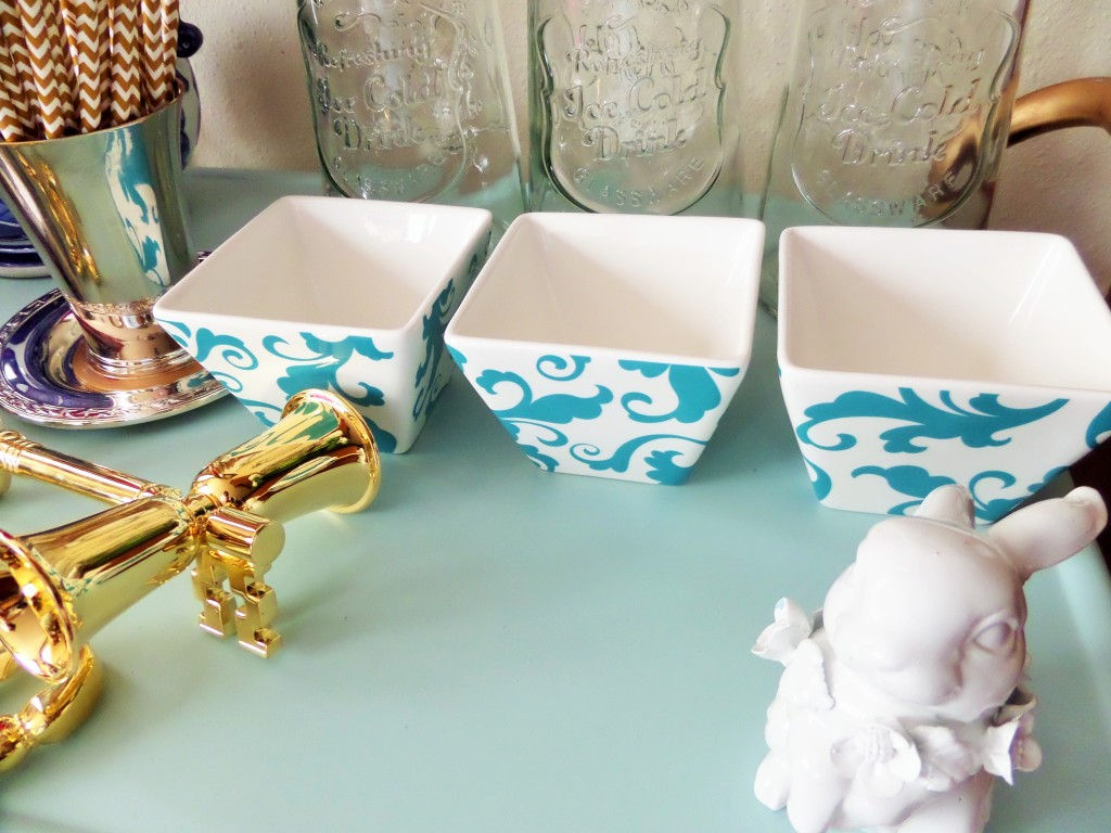styling your bar cart