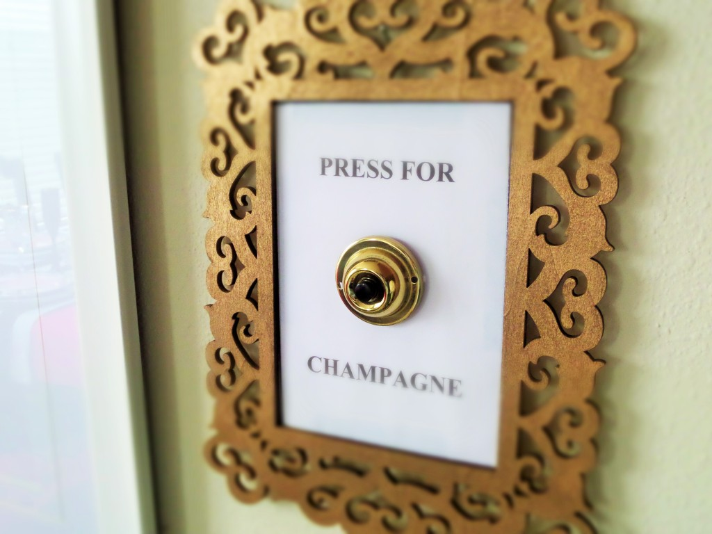 DIY Press for champagne
