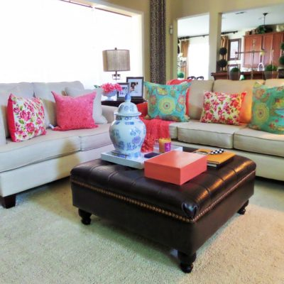 Simple Ways To Brighten Your Space For Spring On A Budget