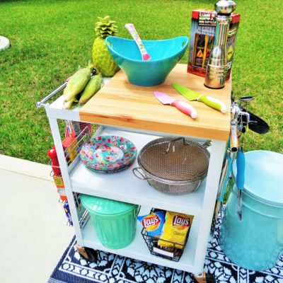 Outdoor Living Space: BBQ Prep Station
