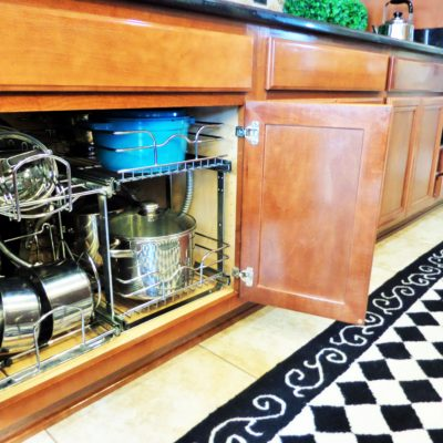 Kitchen Organization Ideas| Pots & Pans