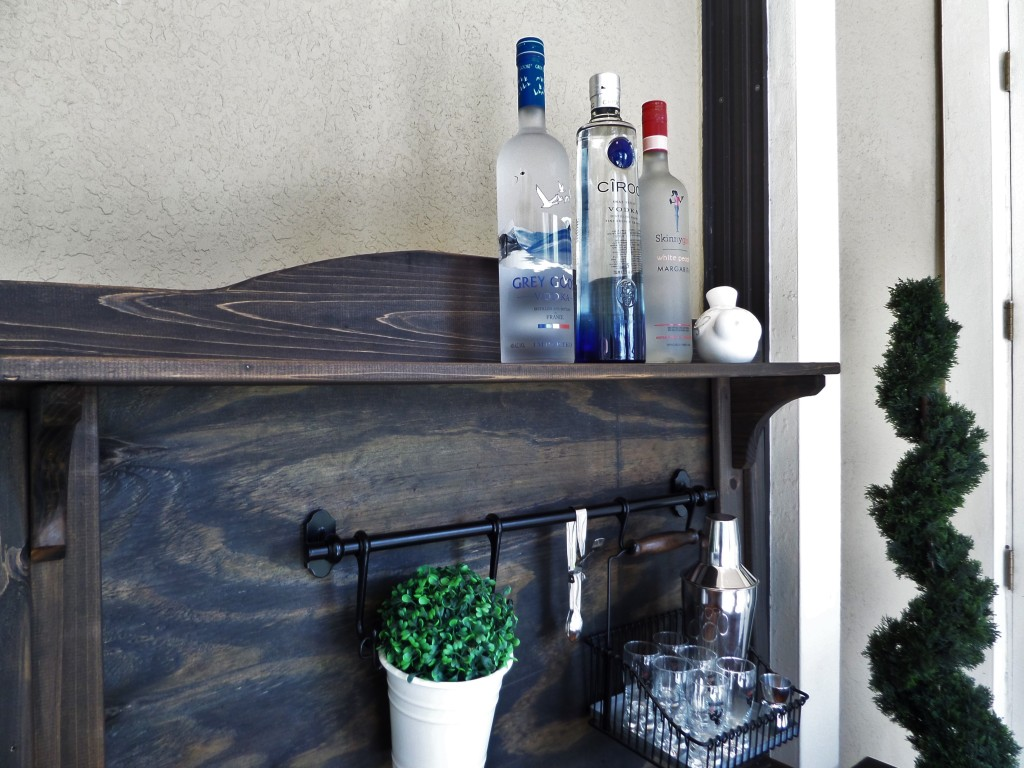 DIY: Potting Bench Turned Outdoor Bar – Be My Guest With ...
