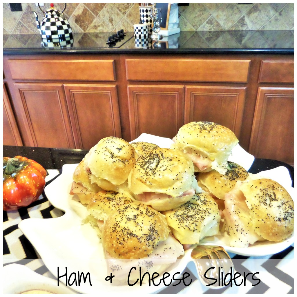 Fall Brunch Ham & Cheese Sliders