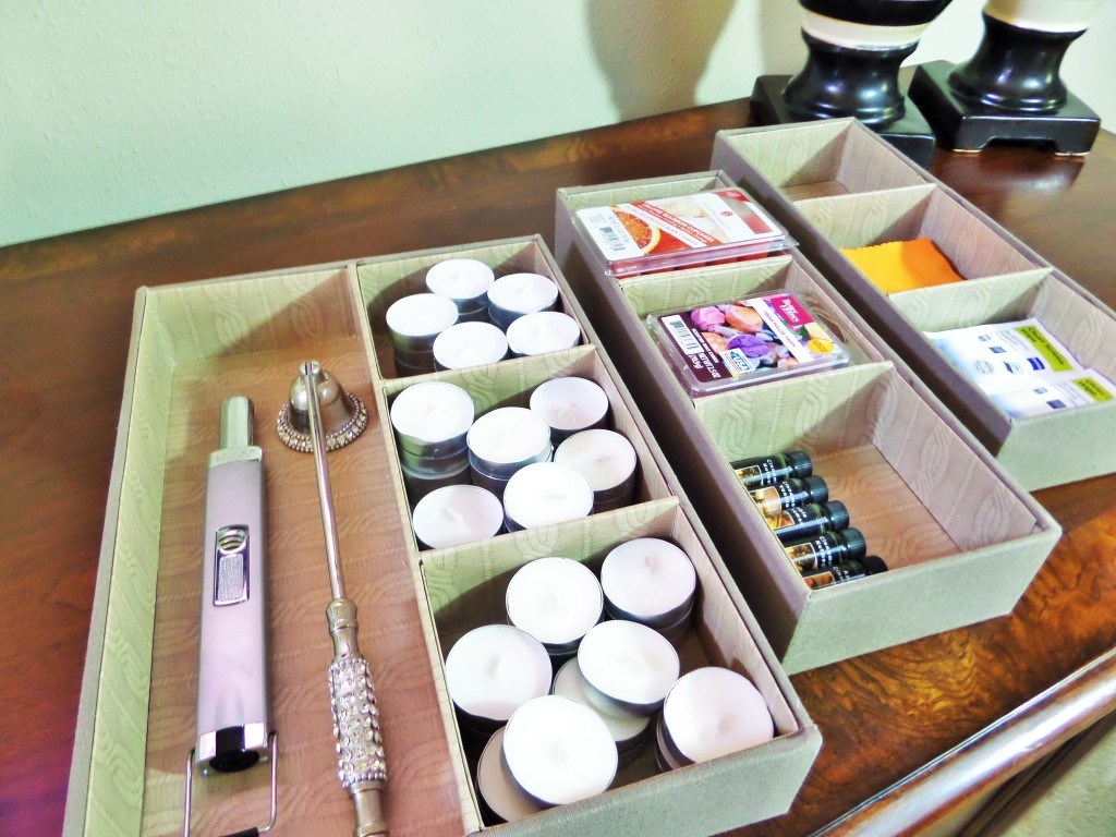 Jewlery Organizers to store tea light candles