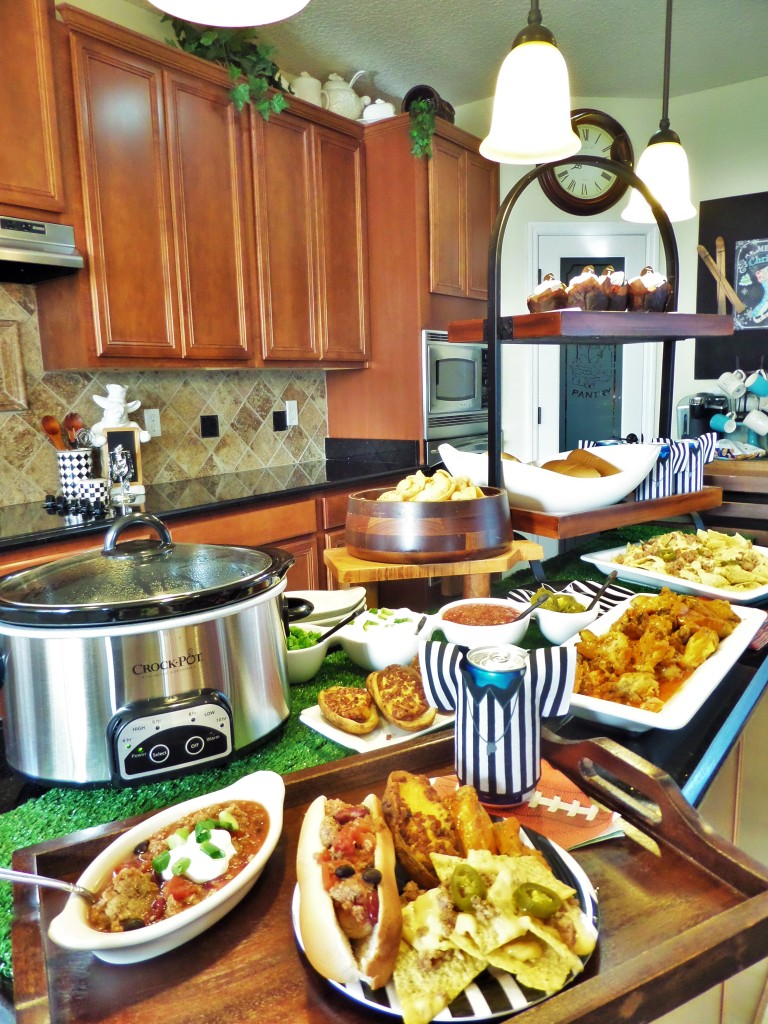 Game Day With Crock-Pot Cuisine Ready-To-Cook Meals