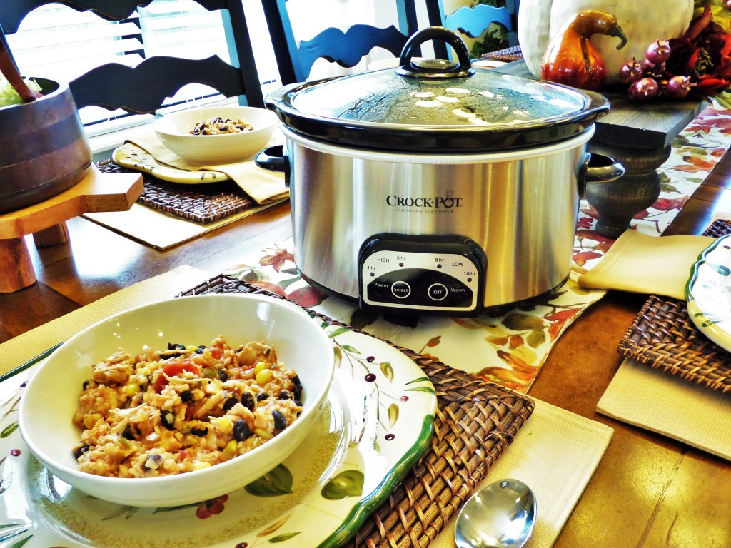 Crock-Pot Cuisine Fiesta Chicken