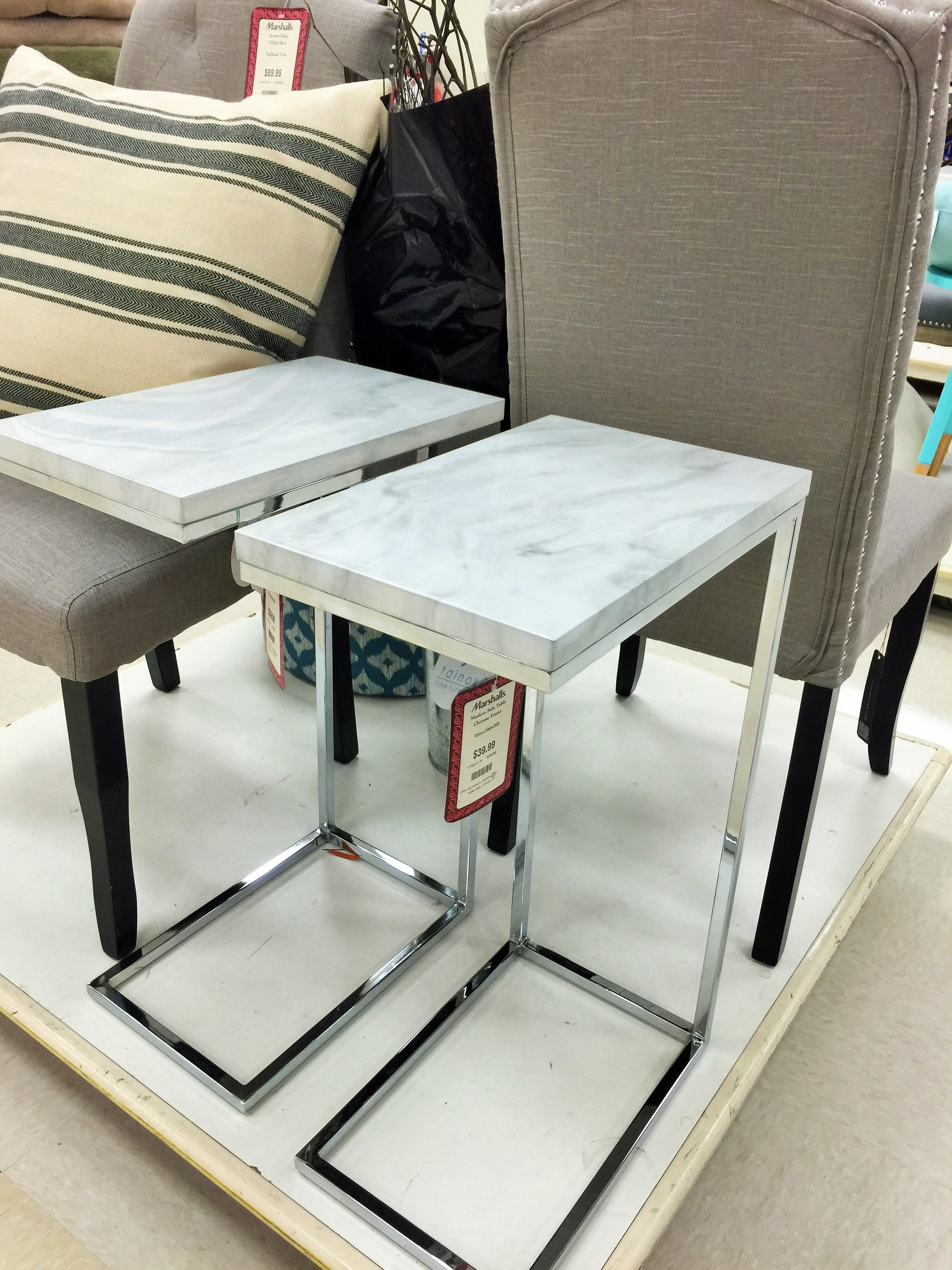 Source Diy Marble C Table Makeover Be My Guest With Denise
