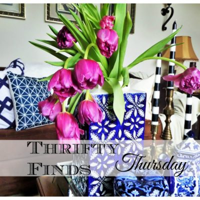 Thrifty Find Thursday|Beating The Winter Blues