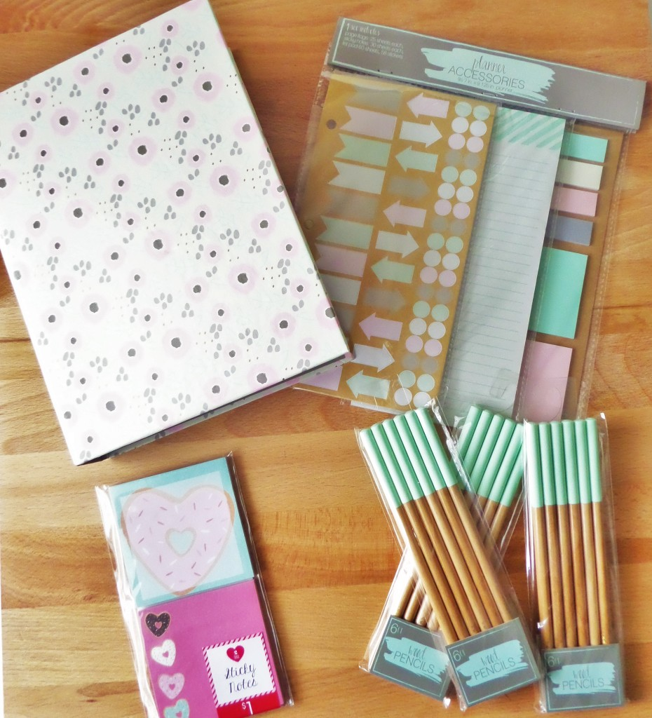 Target Dollar Spot for your planner