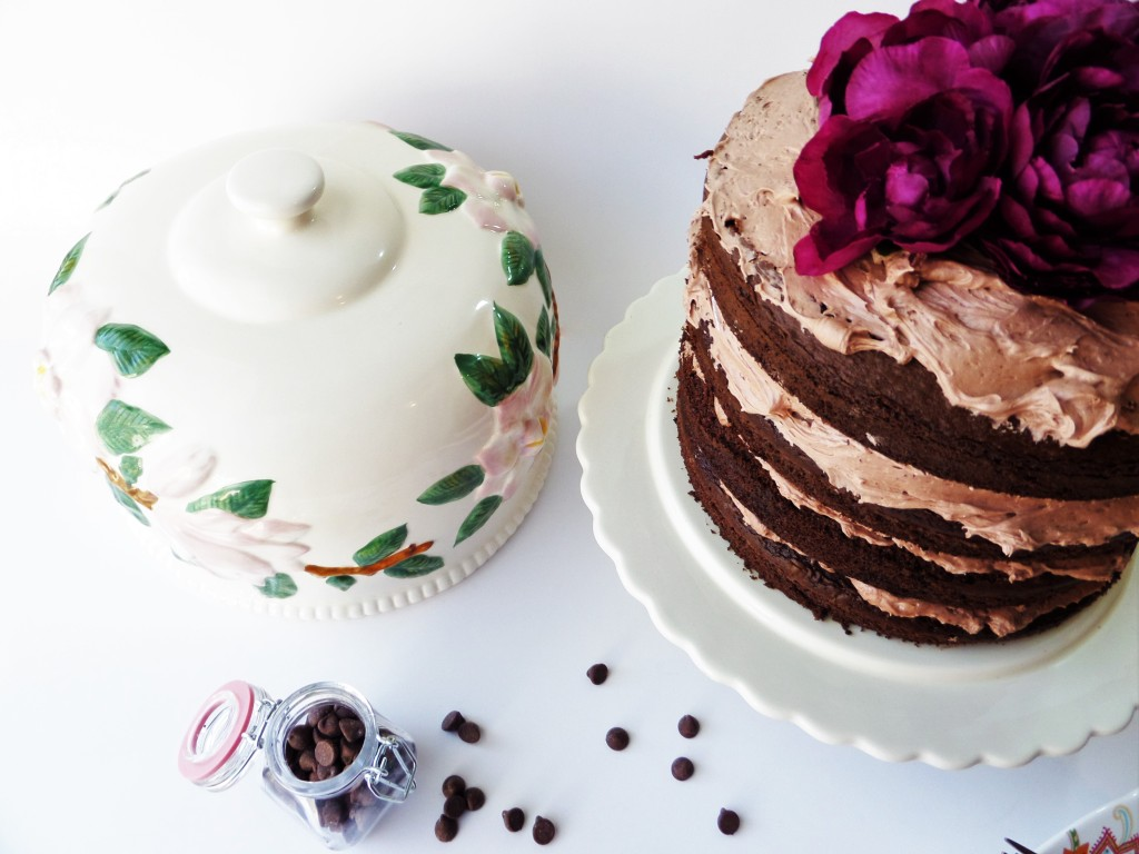 Naked Cake | Triple Chocolate