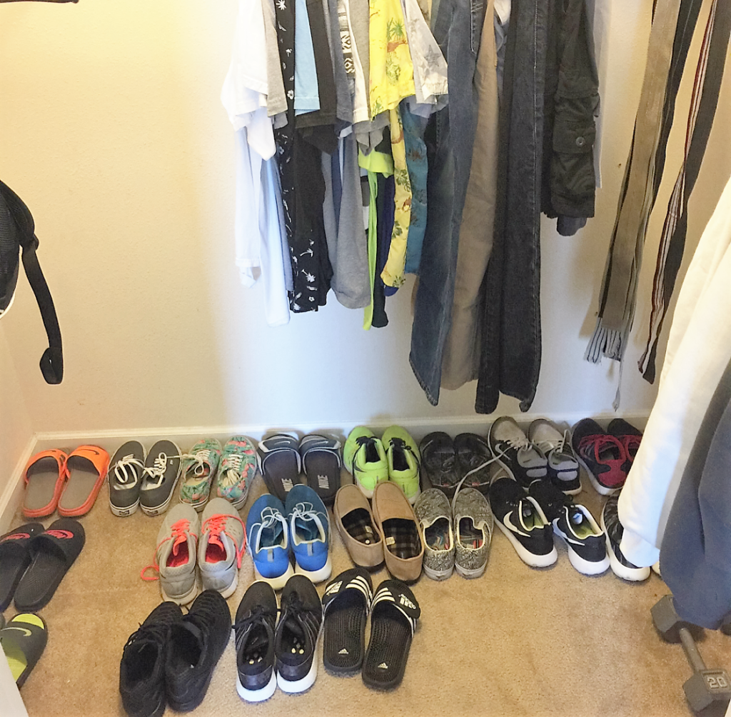 Teen Boy Closet Makeover w/Closetmaid Space Creations