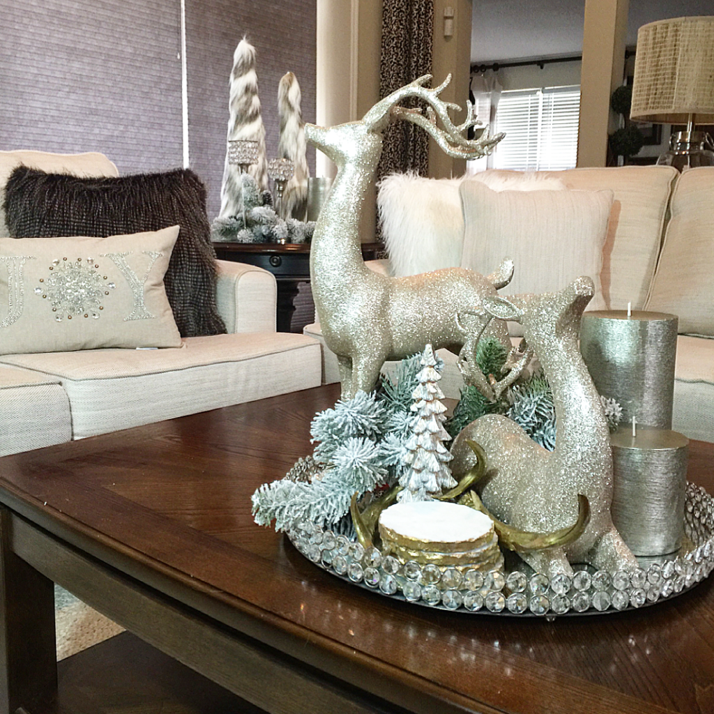 Christmas Coffee Table Decor
