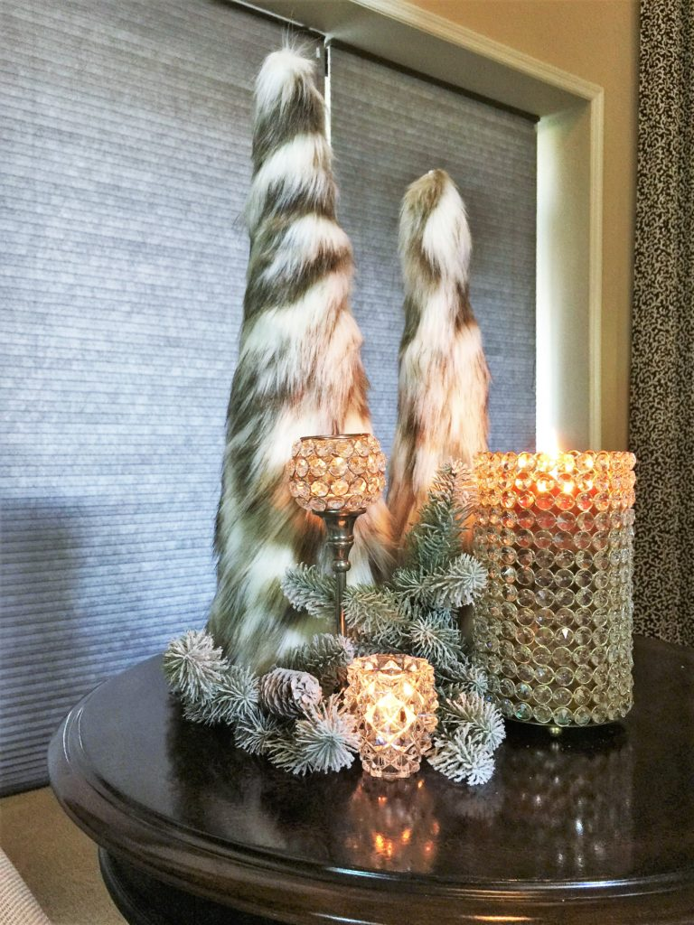 DIY Faux Fur Christmas Tree