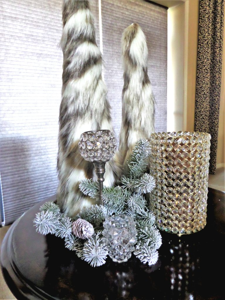 DIY Faux Fur Christmas Trees – Be My Guest With Denise