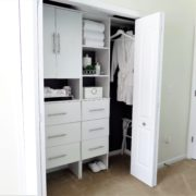Guestroom Closet Organization | By ClosetMaid Suite Symphony