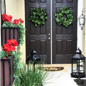 Front Porch Entryway Refresh with/andThat!