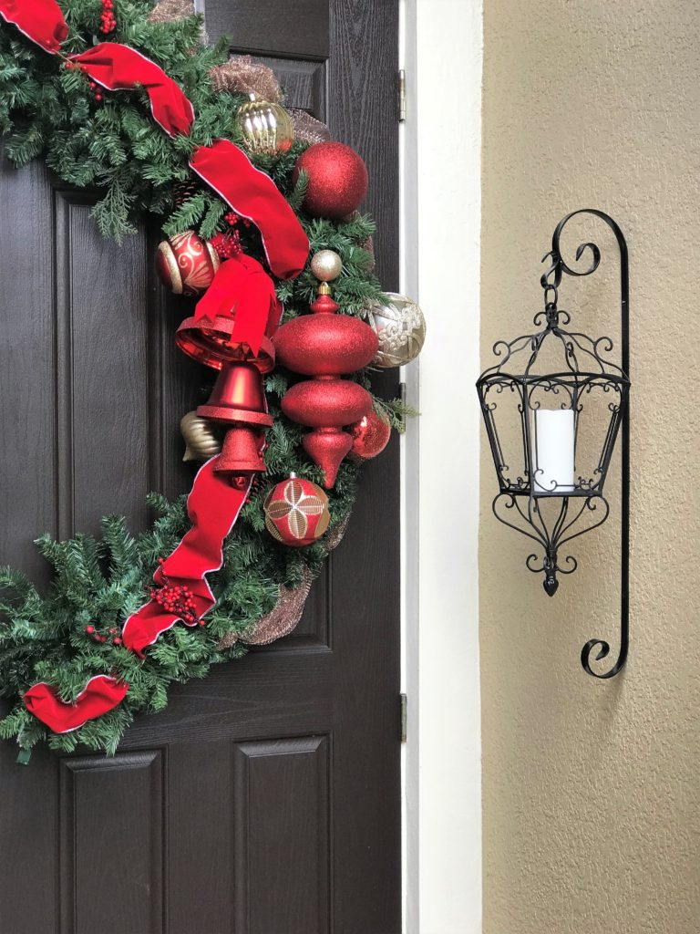 DIY Oversized Door Wreath