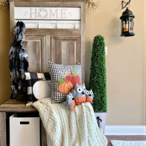 Fall Entryway Makeover | Adding Function & Style
