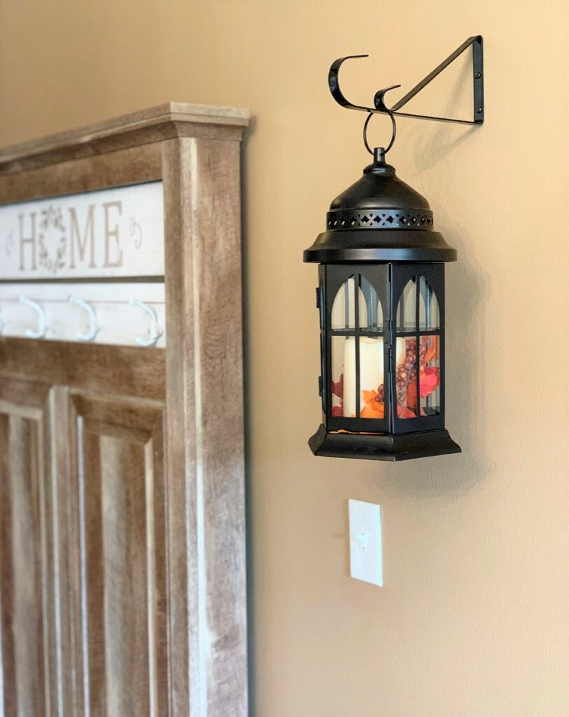 Better Homes & Gardens Metal Oil-Rubbed Bronze Lantern