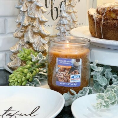 Holiday Scents & Home Decor w/ Better Homes & Gardens at Walmart