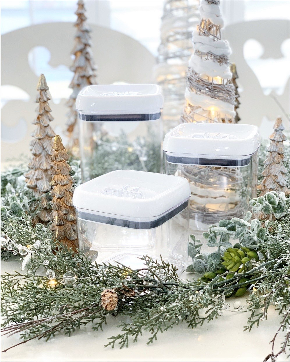 Better Homes & Gardens Flip-Tite 4 Pack Square Container Set