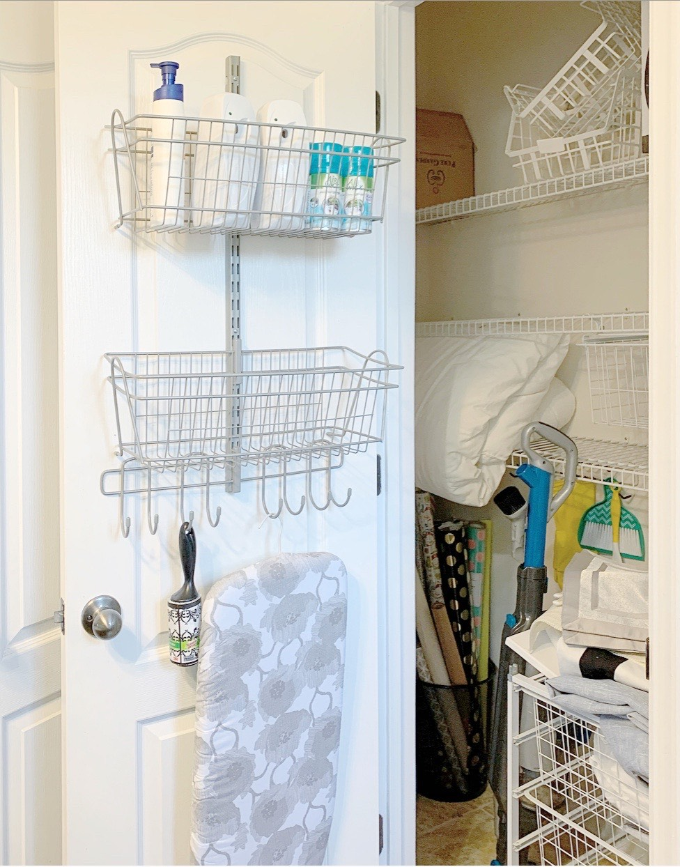Linen Closet Organization w/Better Homes & Gardens At Walmart