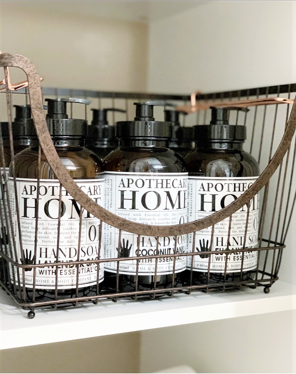 Better Homes & Gardens Bronze Wire Large Stacking Basket